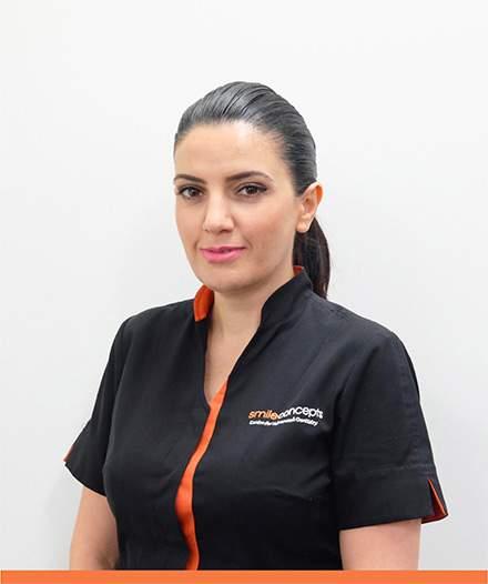 Our team member Gayane