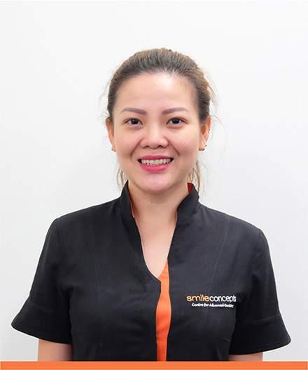 Our team member Jessica