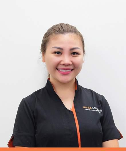 Our team member Vivian